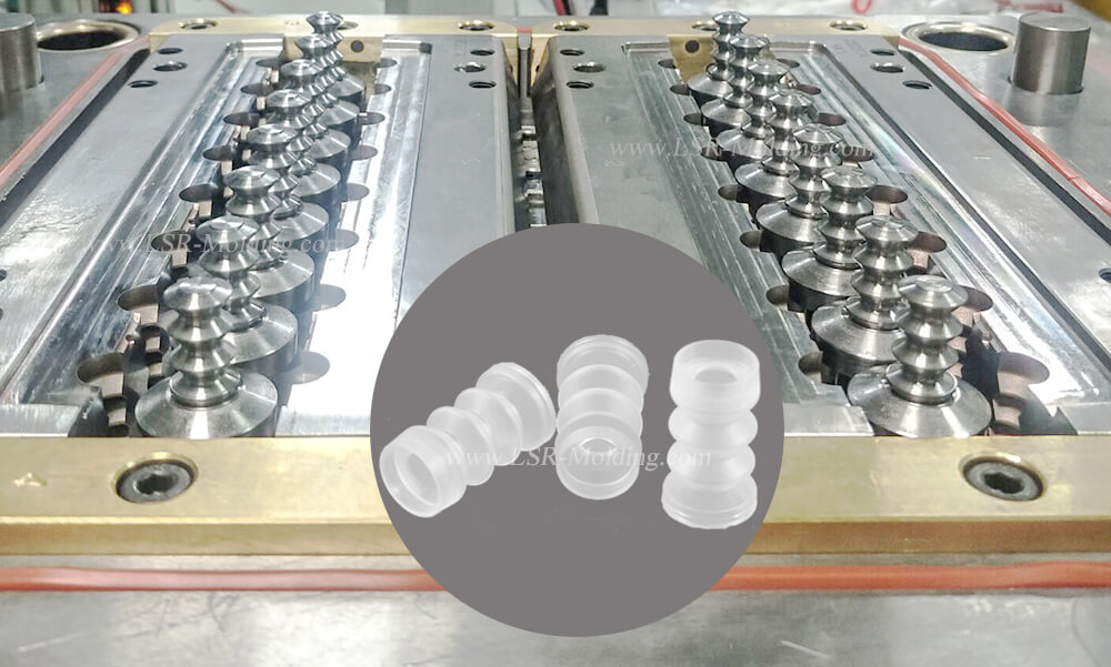 silicone bellow and expansion joint by LSR Mold
