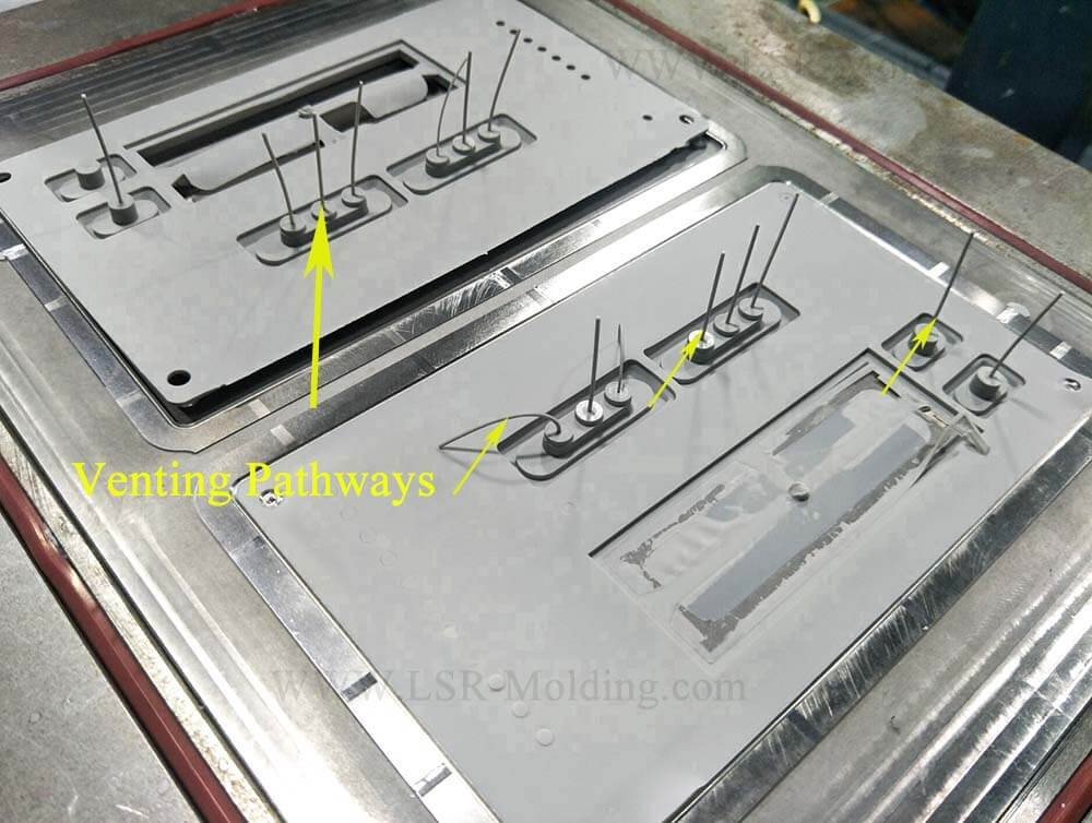 Liquid Silicone Injection Venting