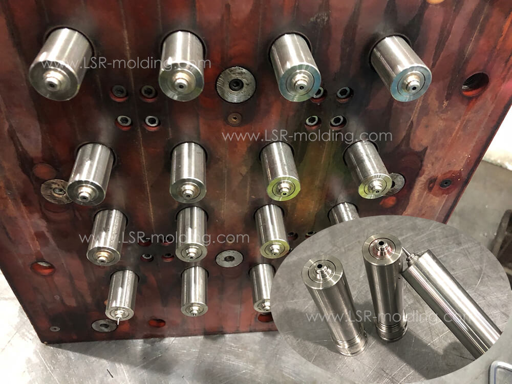 Needle Valves for LSR Injection Molding